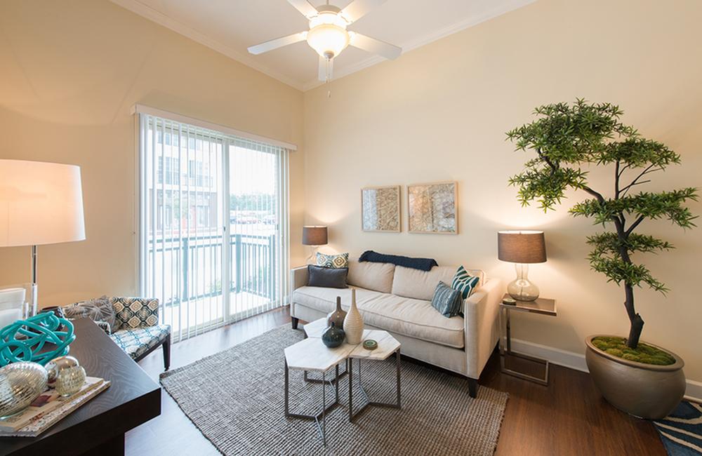 Spacious Living Room   Apartments in Gaithersburg, MD   Spectrum Apartments