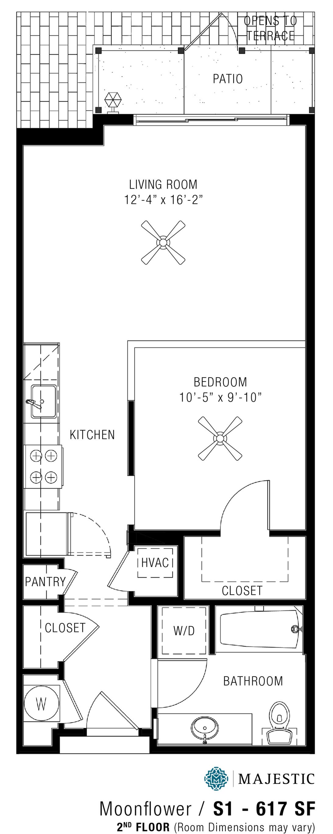 Studio Apartments   Majestic 3