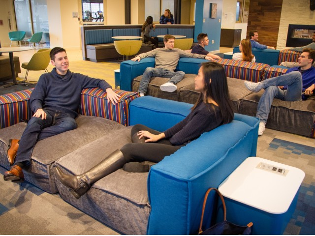 Image of Study Lounges for Twin River Commons