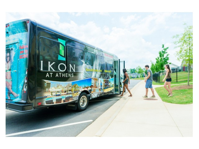 Image of Weekend Shuttle Service to Downtown Athens for 1900 Ikon