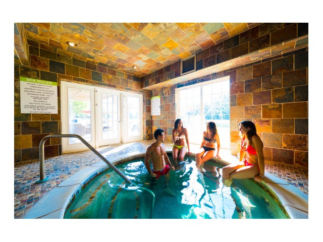 Image of 24-Hour Year-Round Hot Tub for 3101 Woodland Mews