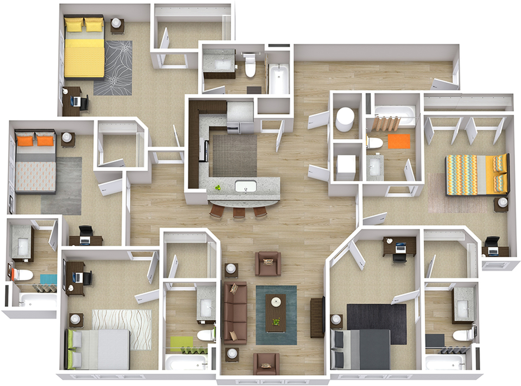 The Indy - 5 Bedroom