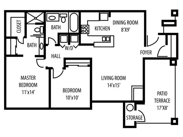 Coronado (2 Bed - 2 Bath)