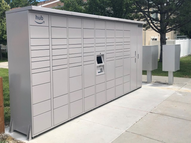 Amazon Lockers for Safe Package Delivery