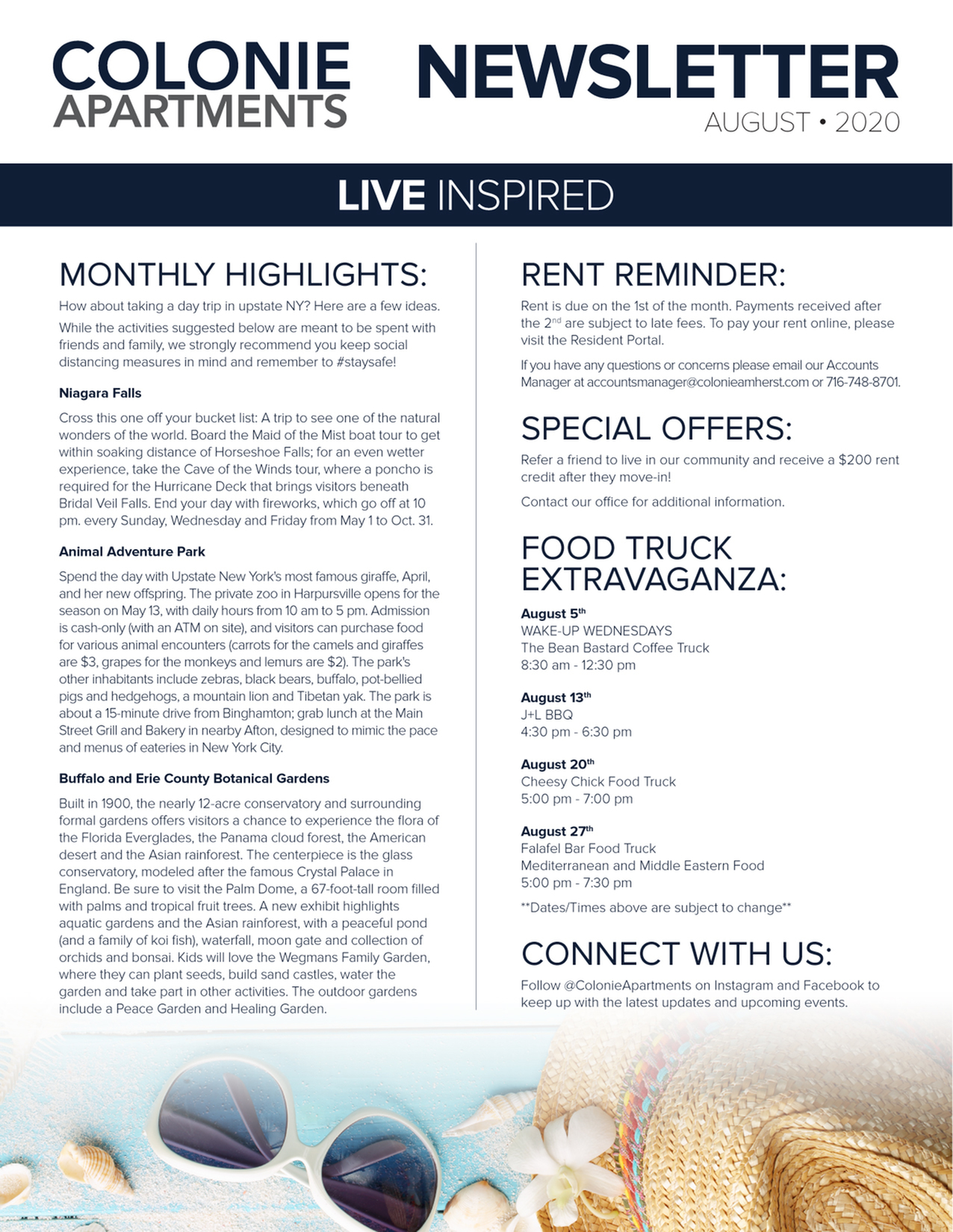 Monthly Updates & Upcoming Events (August)-image