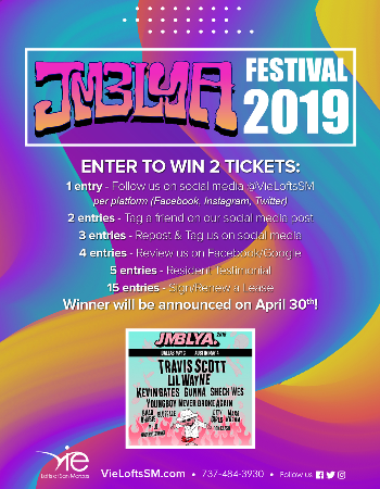 Enter To Win JMBLYA Festival Tickets!