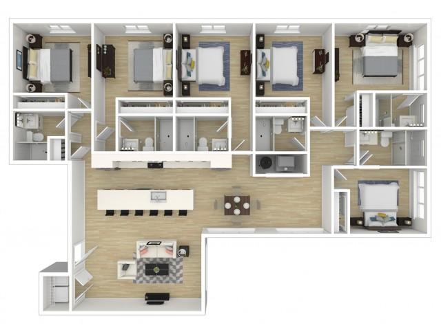 Grand Flats Floor Plan