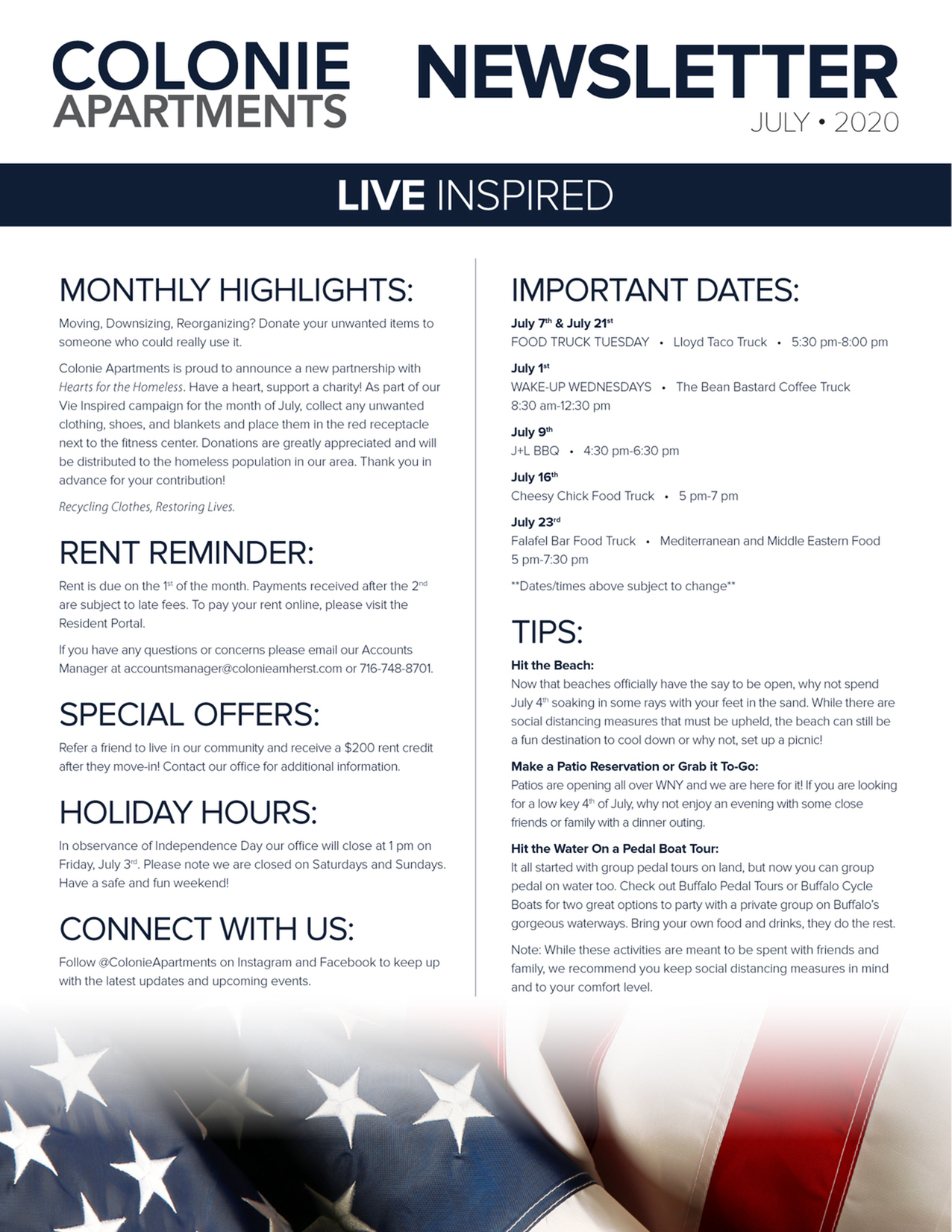 Monthly Updates & Upcoming Events (July)-image