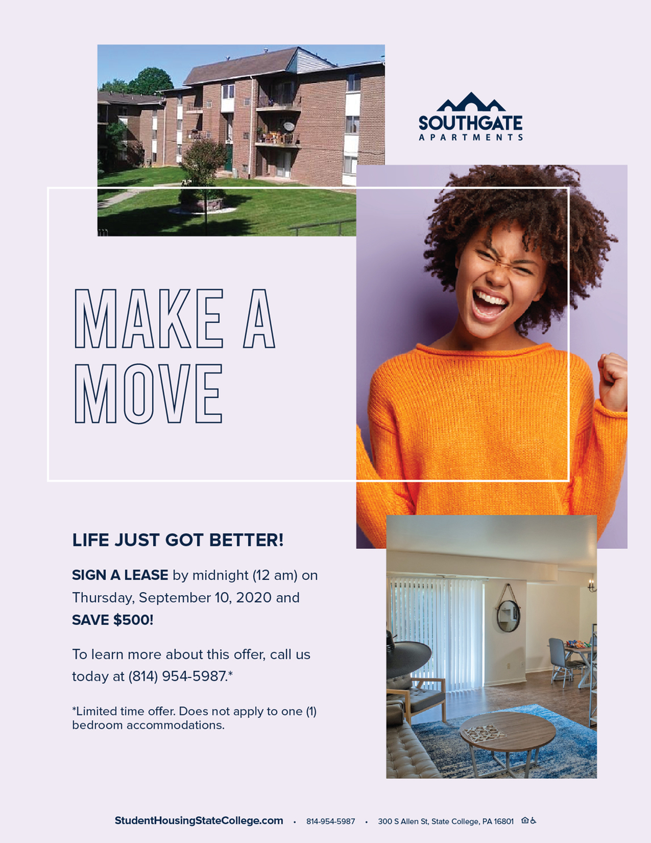 EXTENDED! Make Your Move! Save $500 When You Lease Right Now-image