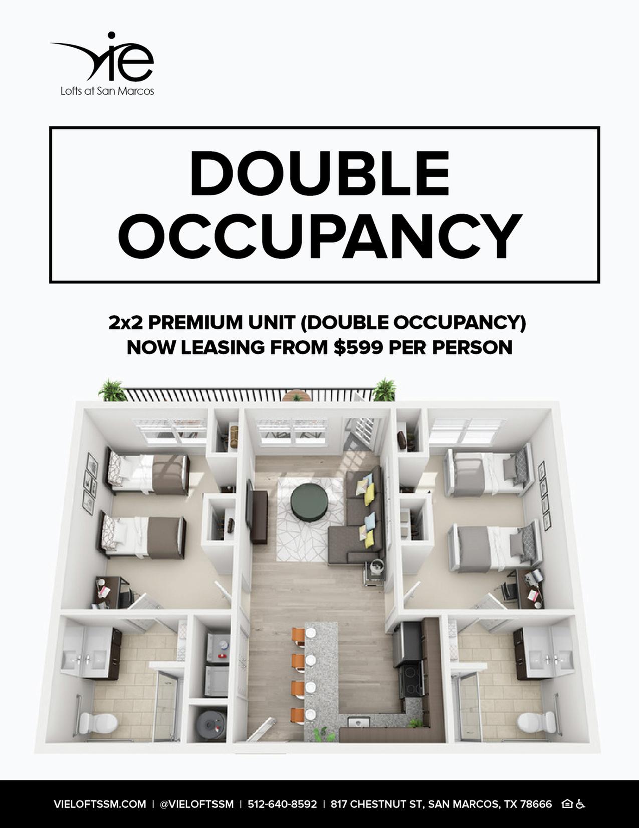 ONE ROOM, TWICE THE SAVINGS | APPLY NOW-image