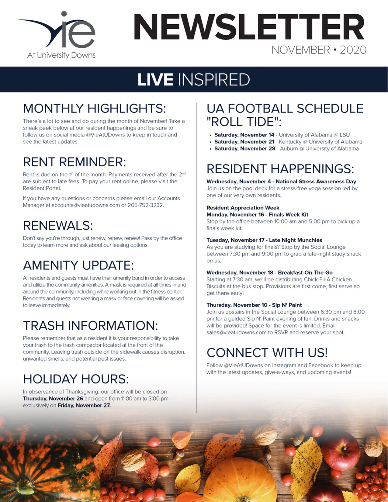 Monthly Updates & Upcoming Events (November)-image