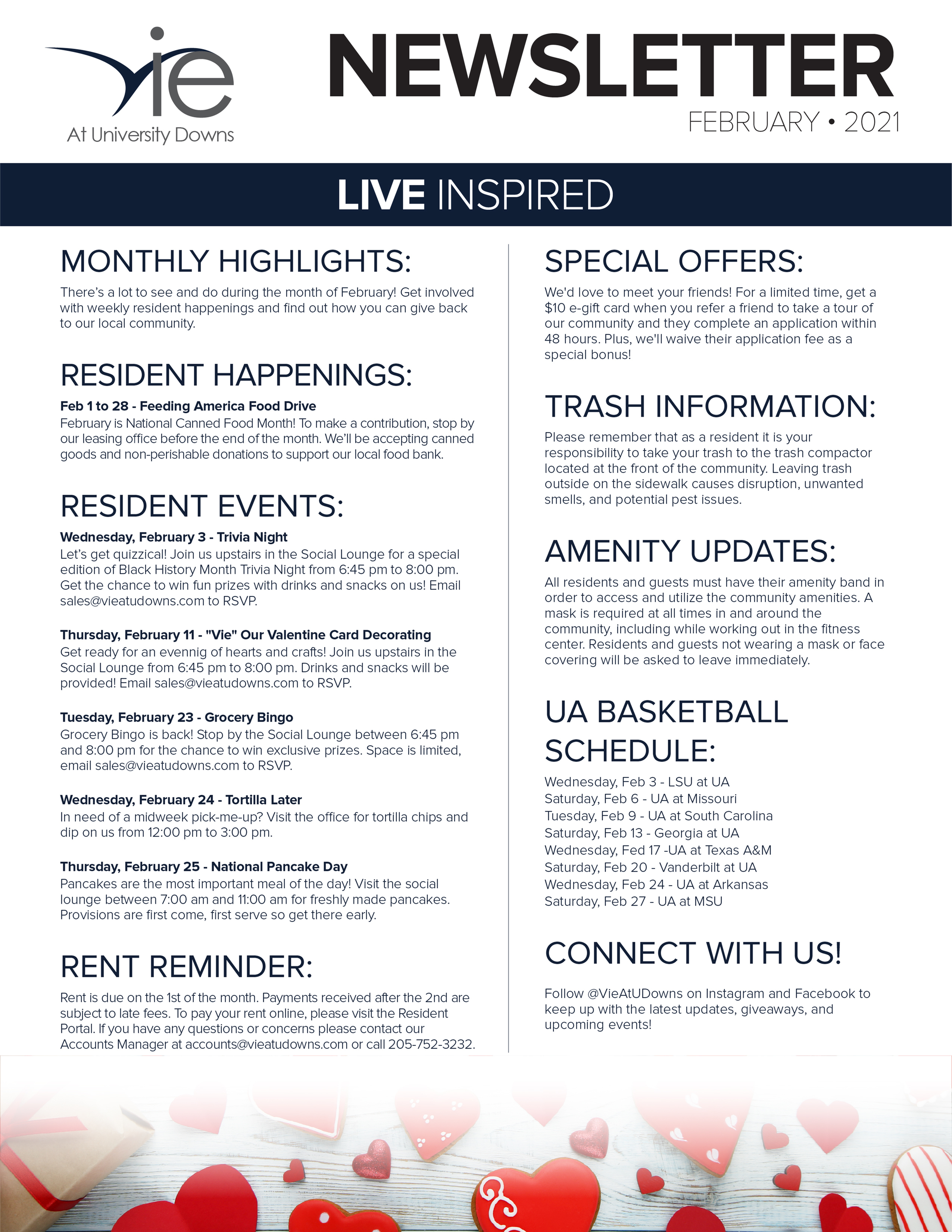 Monthly Updates & Upcoming Events (February)-image