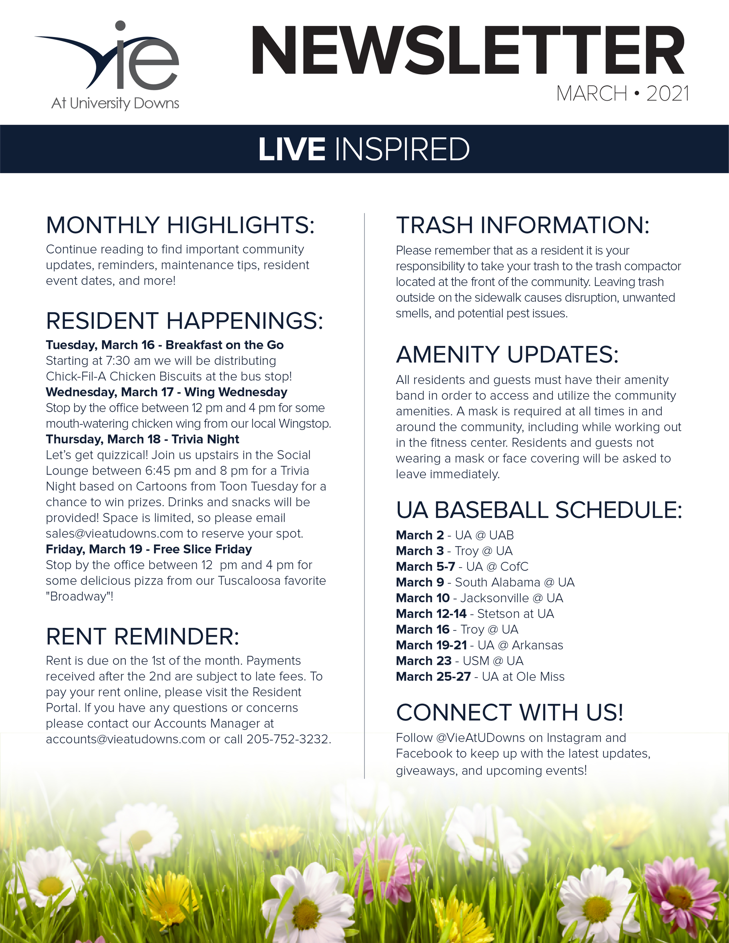 Monthly Updates & Upcoming Events (March)-image