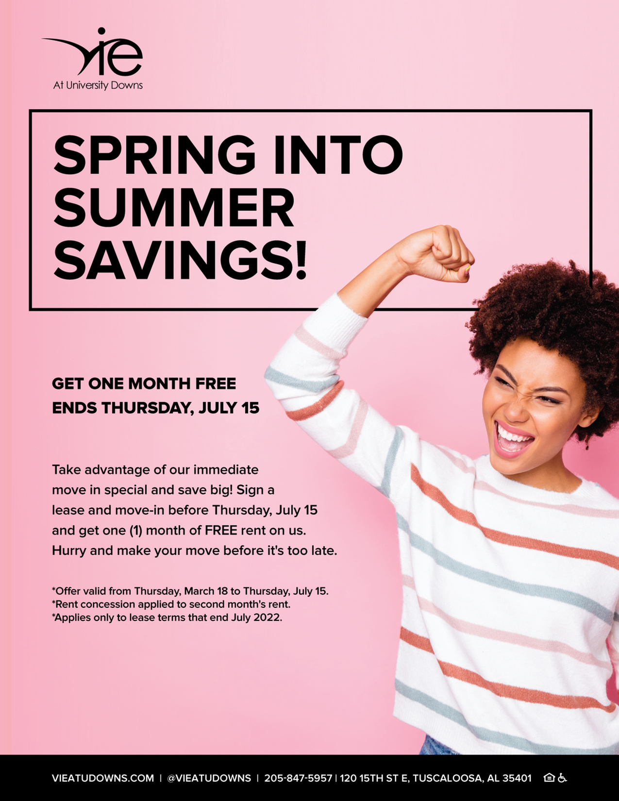 GET ONE MONTH FREE   OFFER ENDS JULY 15-image