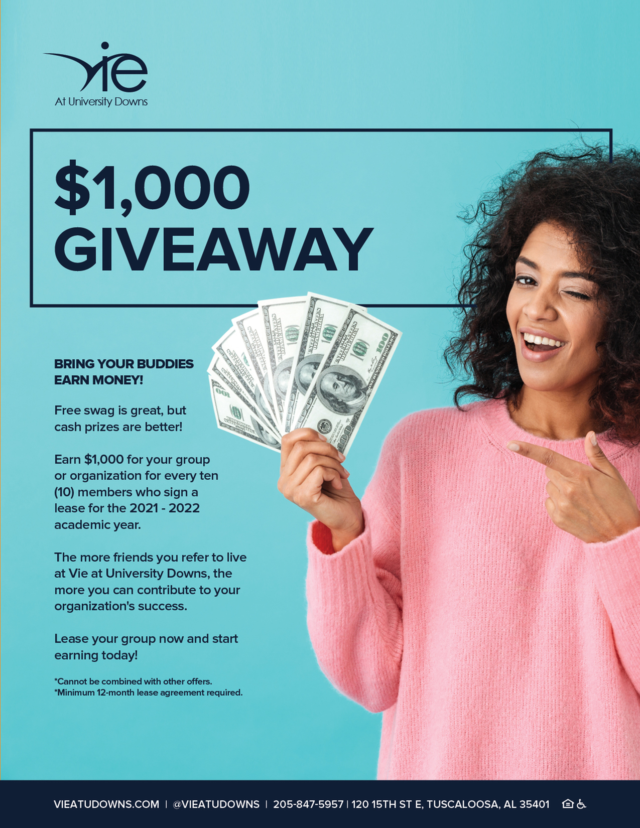 $1,000 Giveaway Starts Now!-image
