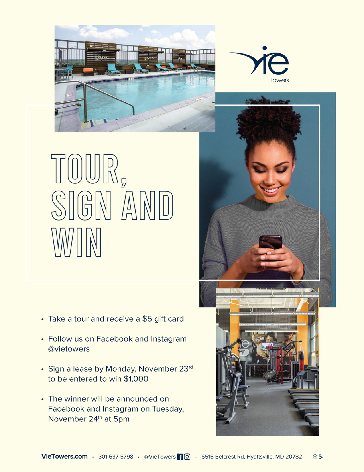 TOUR, SIGN, AND WIN | $1,000 GIVEAWAY-image
