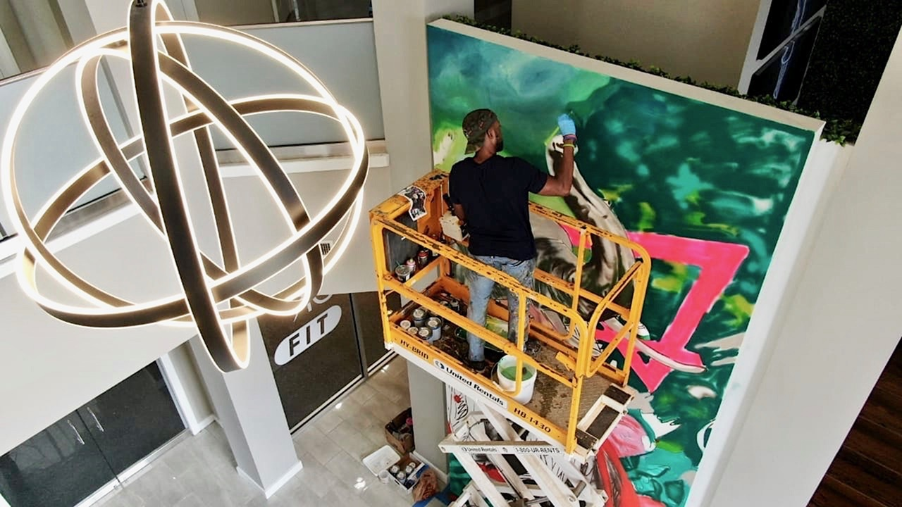 Vie at University Downs Custom Mural On Display Now!-image