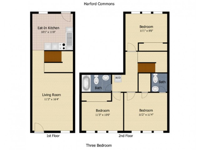 3 Bedroom Townhouse