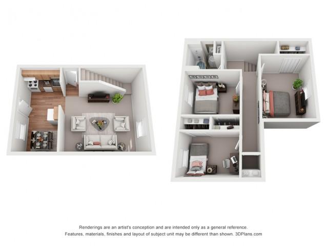 3 Bedroom Deluxe Townhouse