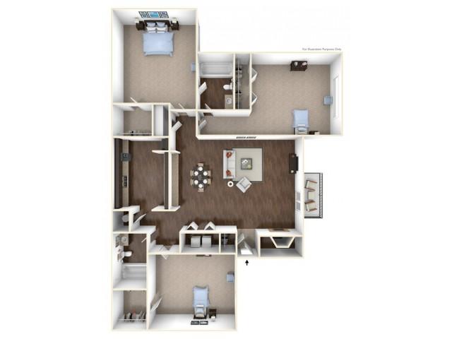 Woodchase & Clarendon Apartments