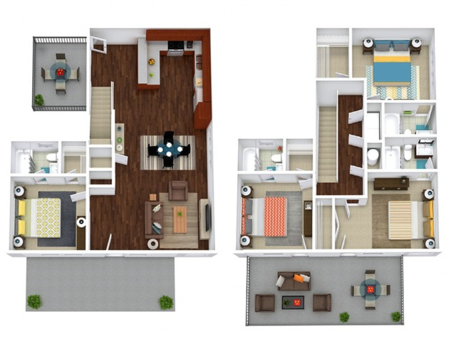 Sycamore 4 Furnished