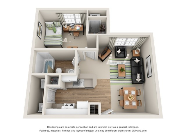 All|Floor Plans1 Bedroom 1 Bath