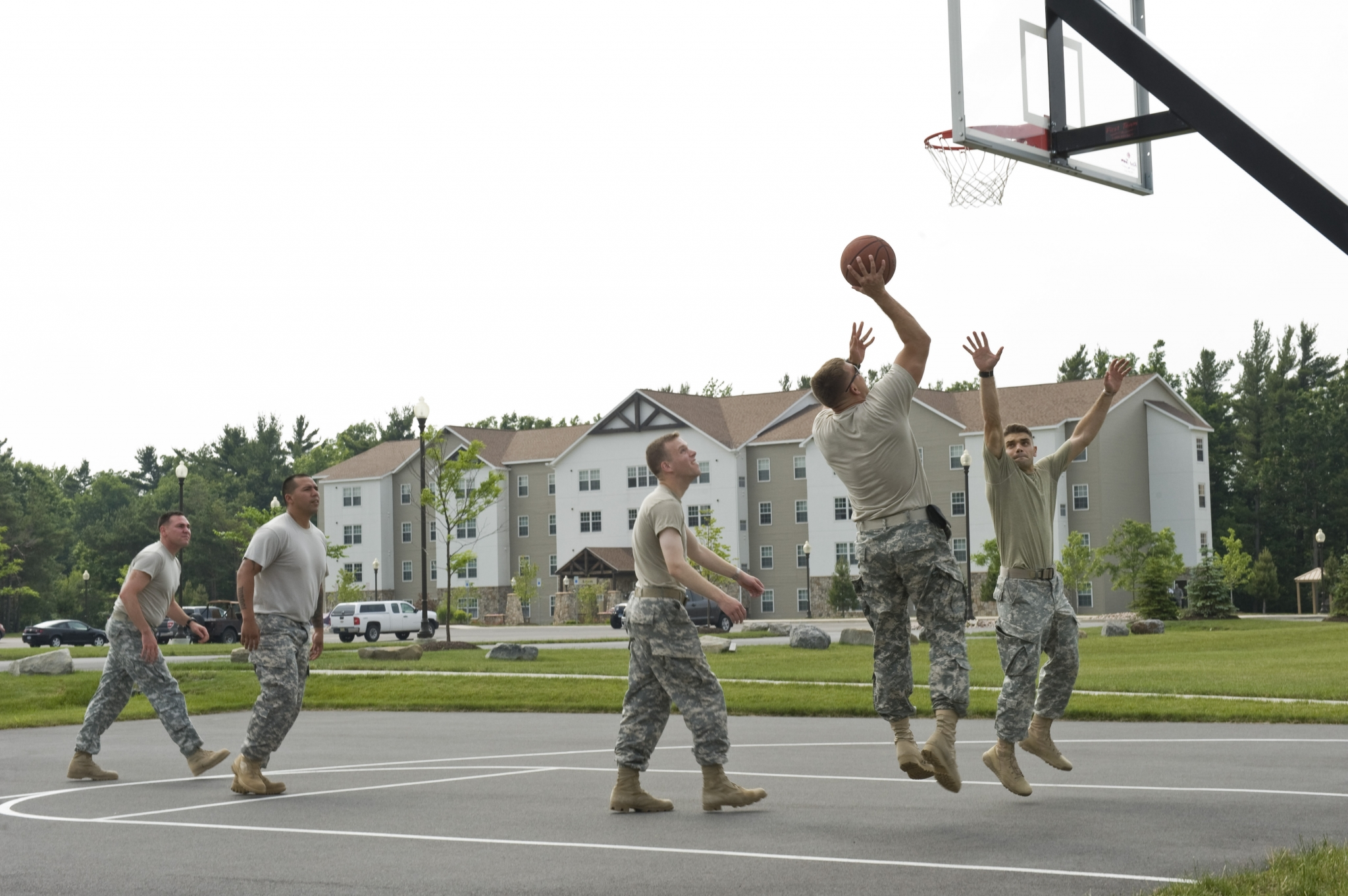 Basketball Court | On Post Housing Fort Drum