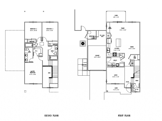 3-bedroom new two story townhome, SNCO, CGO on Schofield, HMR, large floor plan