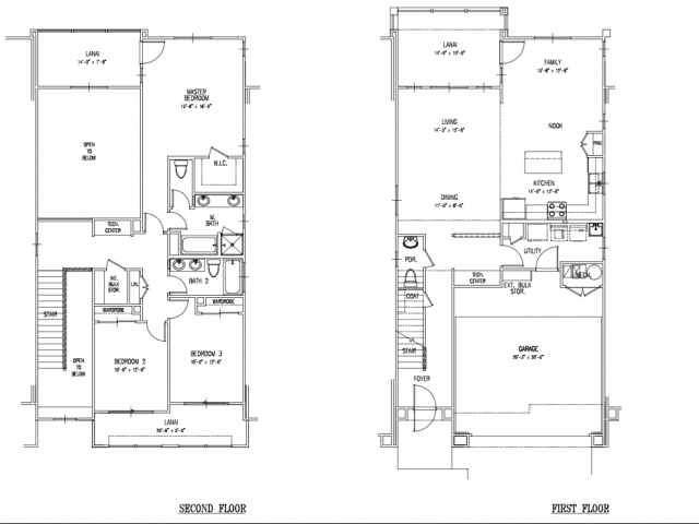 Floor Plan 17 Island Palm Communities Fort Shafter