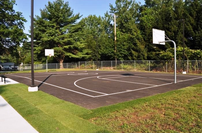 Outside Basketball Court | Exterior Basketball Court | Blacktop Court