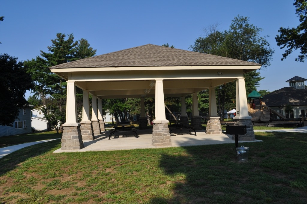 Westover Housing Community | Babecue Pavilion | Outside Shed | Exterior Patio | Picnic Area