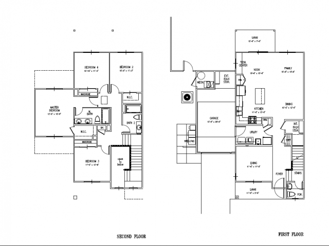 4 bed 2 5 bath apartment in schofield barracks hi for 4 bedroom duplex floor plans
