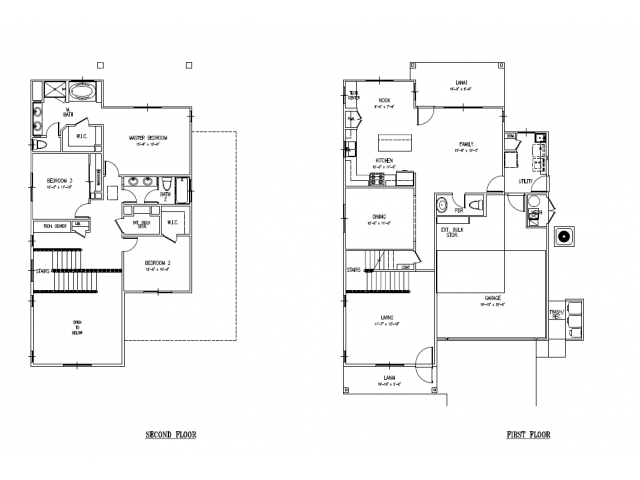 Floor Plan 22 | Island Palm Communities Fort Shafter | Island Palm Communities