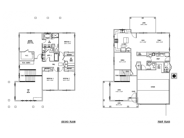 4-bedroom new single family home on FTSH, AMR, Red Hill, 2389 sq ft, large floor plan
