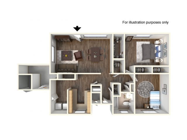 Floor Plan 3 | Ft Hood Housing | Fort Hood Family Housing