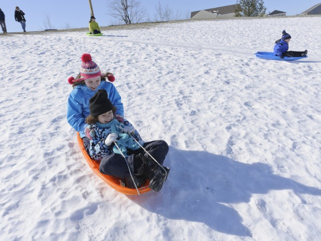 Sledding Hill | Fort Drum Housing