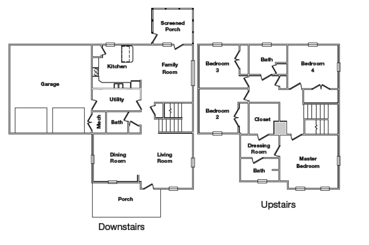 Stewart Terrace Sutton Floor Plan
