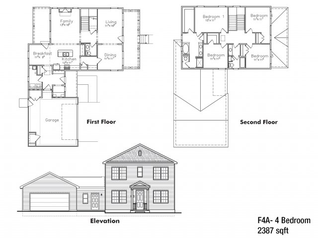4 BDRM Field Grade Floor Plan | On Base Housing Fort Drum