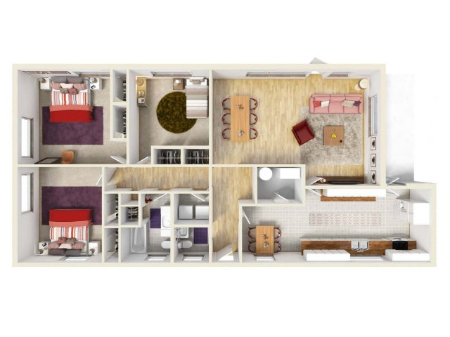 Floor Plan 8 | Ft Knox Housing | Knox Hills