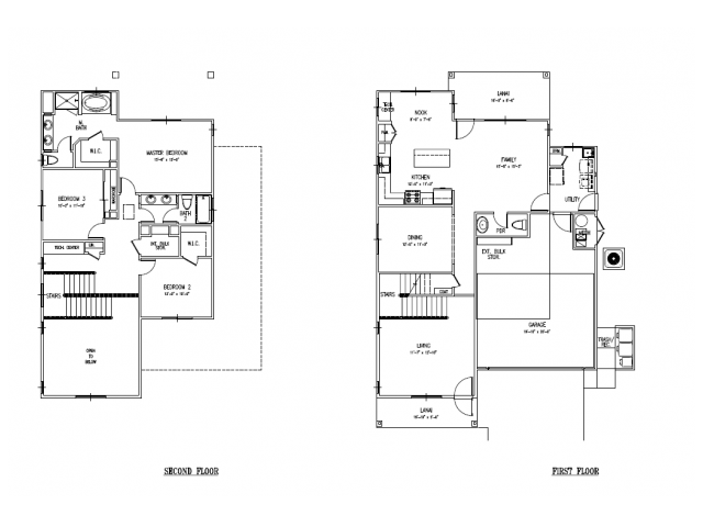 3-bedroom new single family home on FTSH, AMR, Red Hill, 2031-2089 sq ft, 2 car garage