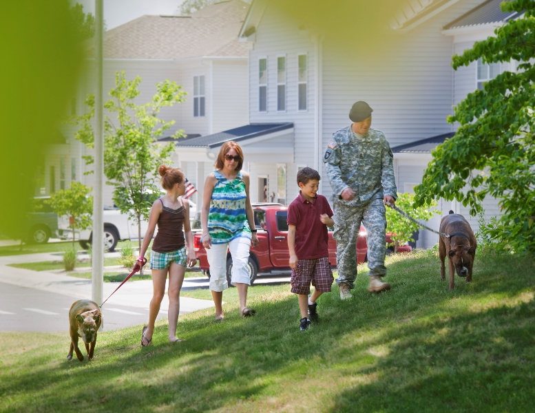 Pet Friendly | Fort Campbell on base Housing