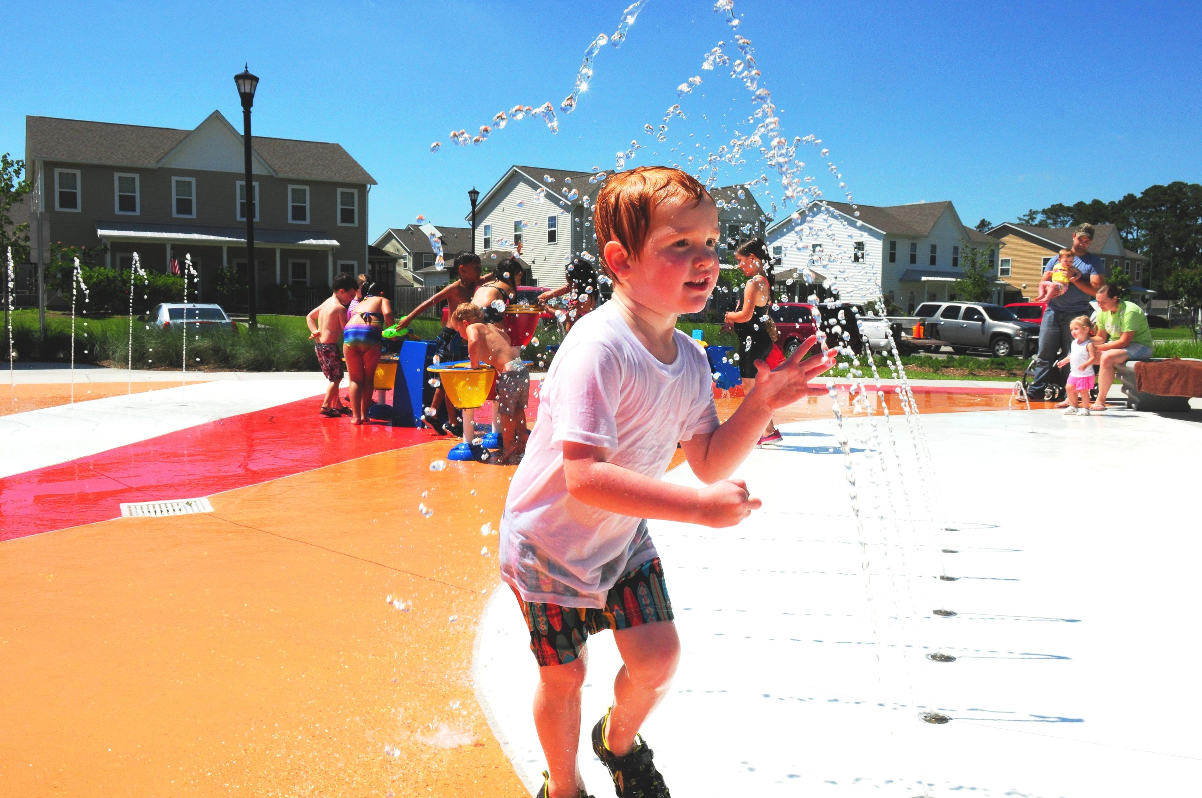 Midway Park Splash Pad