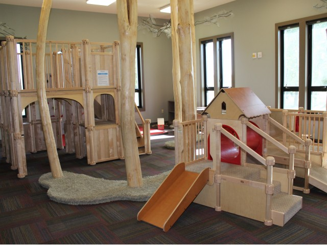 Image of Indoor Play Room for North Haven Communities at Fort Wainwright