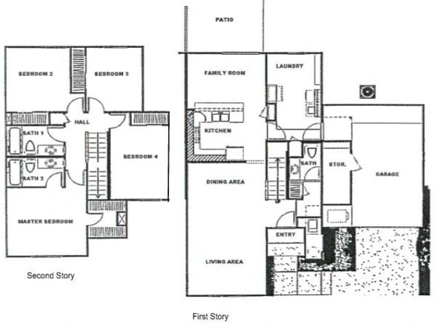 Vail Model Floor Plan