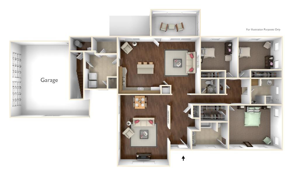 Parris Island Camden Floor Plan I Marsh Landing Camden Floor Plan