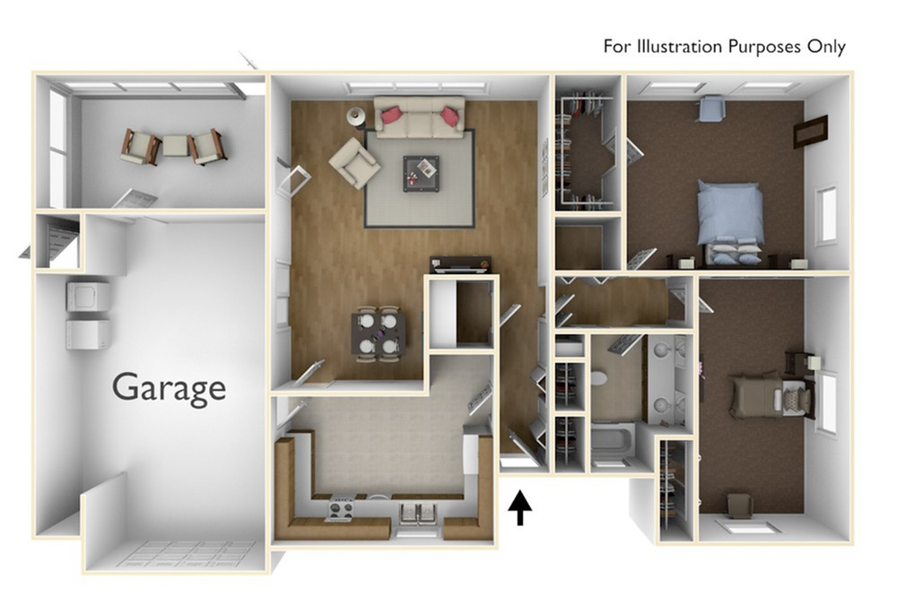 Laurel Bay Model 2 Floor Plan