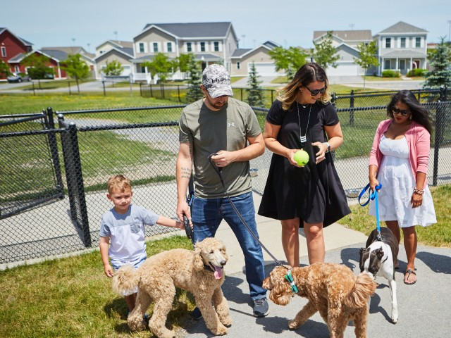 Community Bark Park | Fort Drum Housing | Fort Drum Mountain Community Homes