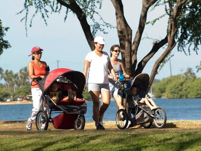 Image of Harbor-front Running Trails for Hickam Communities