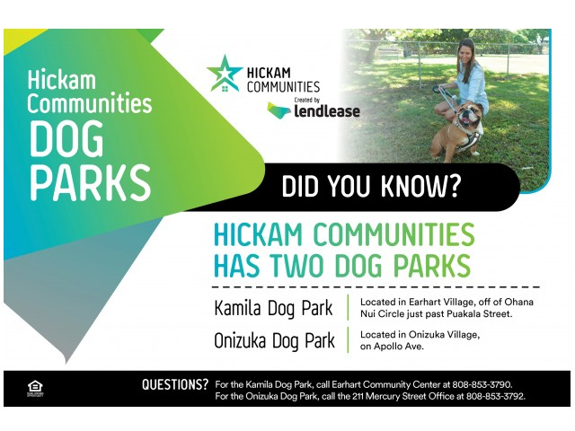 Image of Dog Park for Hickam Communities