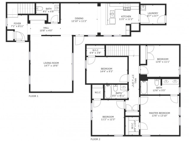 wainwright heights 4bd townhomes 4 bed apartment fort